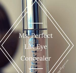 uroda dramatycznie.: RECENZJA: Bell - Ms. Perfect Lift Eye Concealer