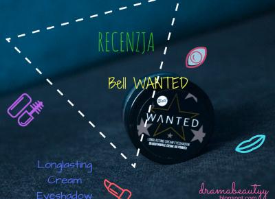 uroda dramatycznie.: RECENZJA - Bell WANTED Longlasting Cream Eyeshadow + Blogmas 2016