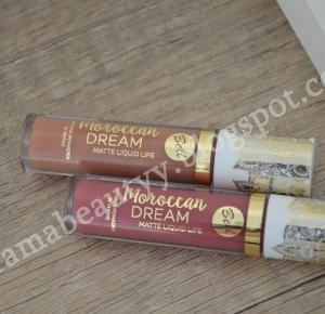 uroda dramatycznie.: RECENZJA: Bell - Moroccan DREAM Matte Liquid Lips   SWATCHE