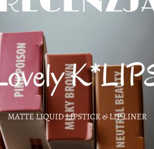 uroda dramatycznie.: RECENZJA: Lovely - K*Lips Matte Liquid Lipstick