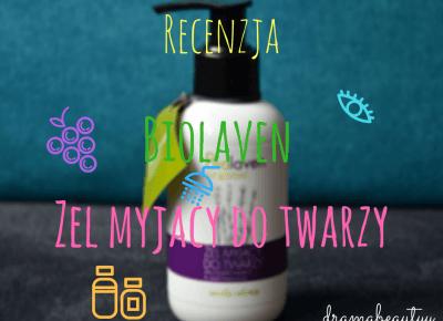 uroda dramatycznie.: RECENZJA: Biolaven - Żel myjący do twarzy z olejem z pestek winogron & olejkiem lawendowym