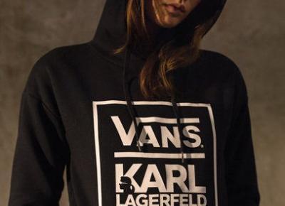 Karl Lagerfeld projektuje dla Vansa?!