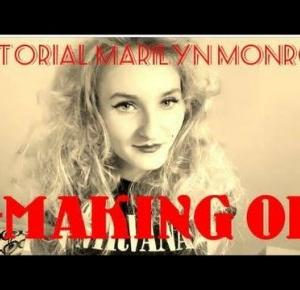 Tutorial Marilyn Monroe   Making of