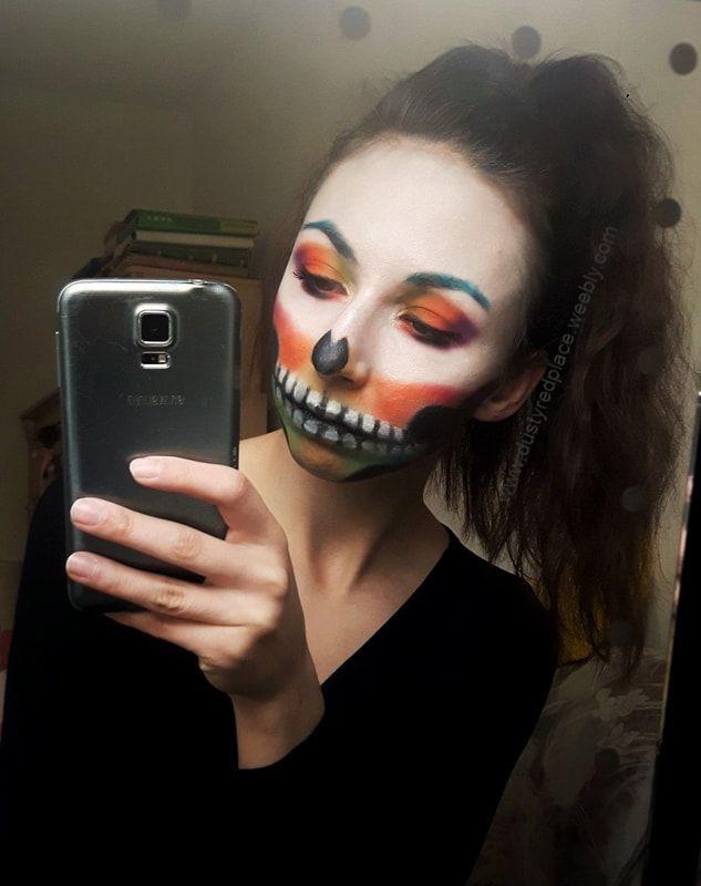 Makijaże na Halloween ;) - Dusty Red Place