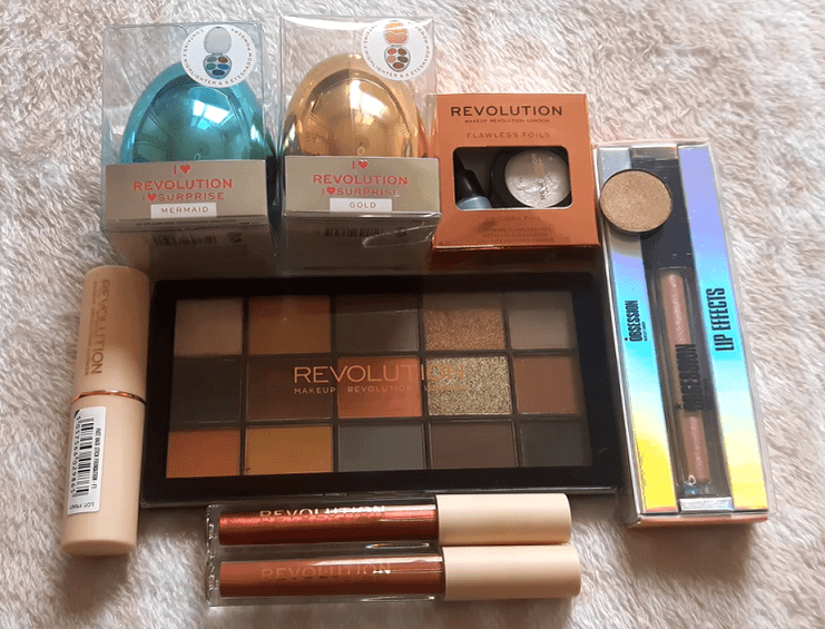 Makeup Revolution haul 3!! | revolutionbeauty.com - Dusty Red Place