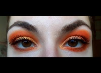 2 LOOKS 1 PALETTE TUTORIAL - Orange You Glad? by COLOURPOP