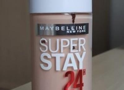 Podkład Maybelline Superstay 24h nr 05 Light Beige - Dusty Red Place