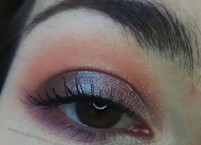 Makijaż oczu na co dzień (NYX Lid Lingerie + Nabla Alchemy) - Dusty Red Place