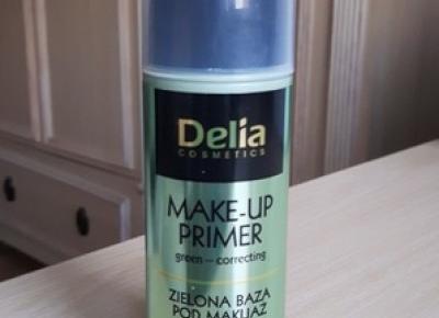 Zielona baza korygująca zaczerwienienia Delia Cosmetics - Dusty Red Place