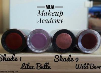 Pomadki MUA | Lipstick & Matte Lipstick | 5 kolorów :) - Dusty Red Place