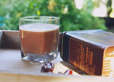 Ultra czekoladowe smoothie z kaszą jaglaną - Patrycja