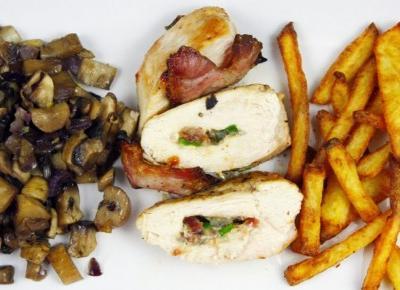 Kurczak z boczkiem i serem pleśniowym, którego pokocha Twoja rodzina - Patrycja