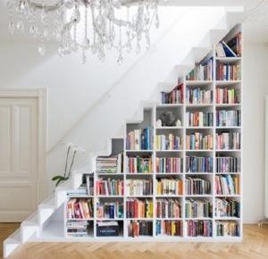Książkowe wnętrza #1 - Gdzie umieścić książki, gdy na półce brakuje miejsca