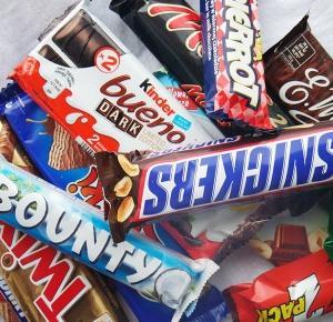 Ile kcal mają znane słodycze? Porównianie