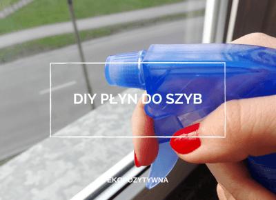 DIY Płyn do mycia szyb i luster | ekopozytywna