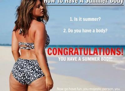 """""""Chcę mieć piękne ciało na plażę"""", bikini body i walka z cellulitem - ekopozytywna"""