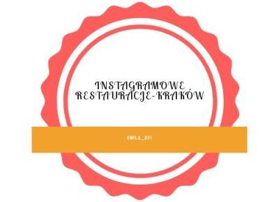 🦄4 instagramowe restauracje-Kraków🦄