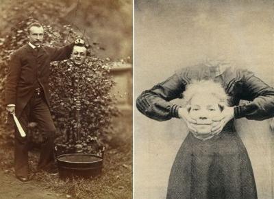 Horsemaning, czyli zdjęcia bez głowy. Kolejna ciekawa moda epoki wiktoriańskiej