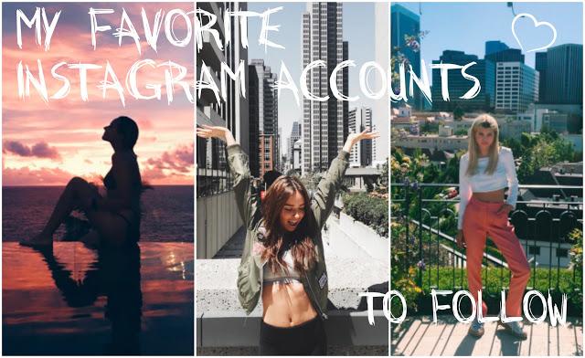 My favorite insta accounts!   - S A R A    L E Ś N I A K