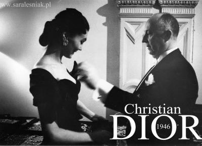 Christian Dior 1946  - Sara Leśniak