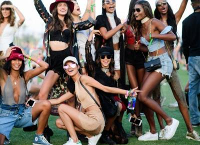 The Best Street Style From Coachella ~ Sara Leśniak
