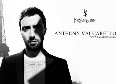 Anthony Vaccarello - Sara Leśniak