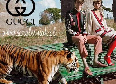 Kampania Gucci wiosna-lato 2017 - Sara Leśniak
