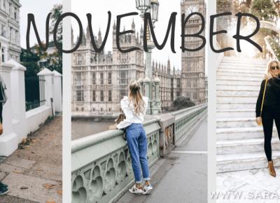 Stylizacje miesiąca - listopad! :)   - Sara Leśniak