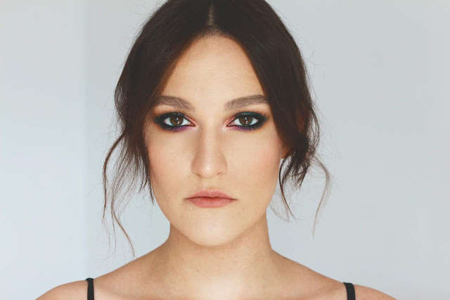 EPHEMERIC BEAUTY: Wieczorowy makija? pigmentami | TAMMY TANUKA, AFFECT, KOBO