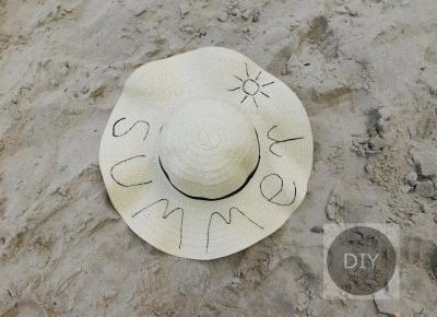 Summer hat diy