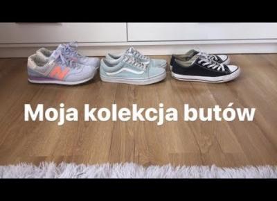 Moja kolekcja butów 2018