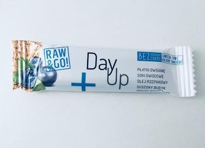 Zdrowe batony Raw&Go Day Up
