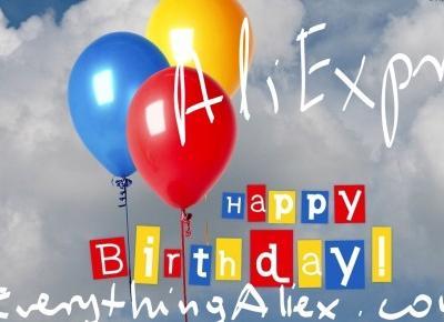 Wyprzedaż z Okazji Siódmych Urodzin AliExpress – Everything AliExpress Blog Polska