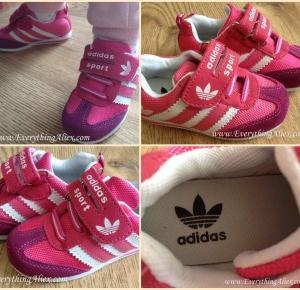 RECENZJA – Dziecięce Buty Adidas z AliExpress – Everything AliExpress Blog Polska