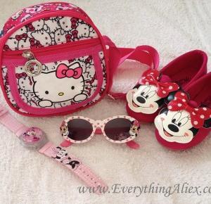 RECENZJA – Zestaw Dodatków Myszka Minnie i Hello Kitty z AliExpress – Everything AliExpress Blog Polska