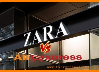 Zara vs AliExpress – Trendy look za mniej – Everything AliExpress Blog Polska