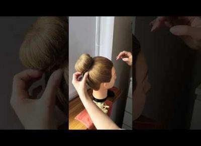 Ballerina hair bun tutorial! / Jak uczesać kok baletnicy!