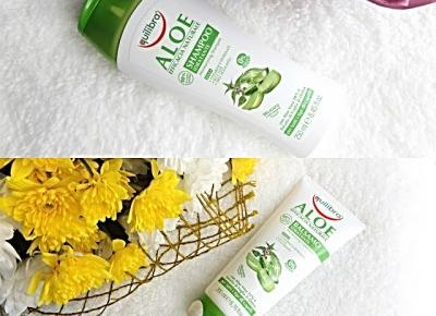 acne skin: Equilibra » Linia Naturale Aloe » szampon i odżywka