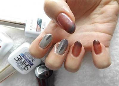 acne skin: Nails Company » Lakiery hybrydowe » Thermo Illusion Mystic, Mirror Powder, Base Bond, Top Flash Shine