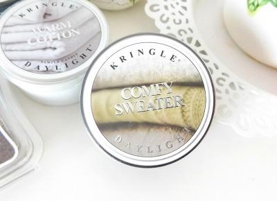 acne skin: Kringle Candle » Daylight » Comfy Sweater | Wyniki Konkursu