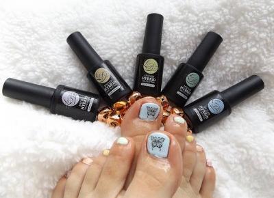 acne skin: LaBoom » lakiery hybrydowe » Candy Line » Blue, Mint, Melon, Beach, Pink, Rose