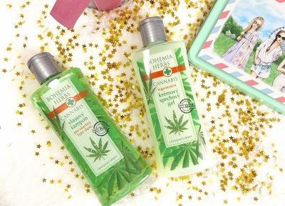 acne skin: Bohemia Gifts & Cosmetics » konopny żel pod prysznic i szampon