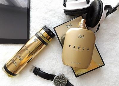 acne skin: Vabun » Woda perfumowana i żel Gold Edition