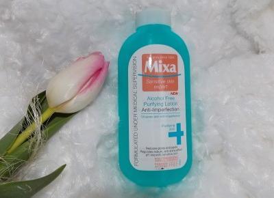 acne skin: Mixa » Oczyszczający tonik bez alkoholu
