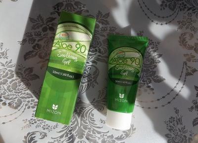 acne skin: Mizon » Aloe 90 » żel nawilżający | odszkodowanie | Konkursy