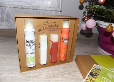 acne skin: Le Petit Marseillais » żel pod prysznic i dezodorant » biała brzoskwinia i nektarynka, kwiat pomarańczy