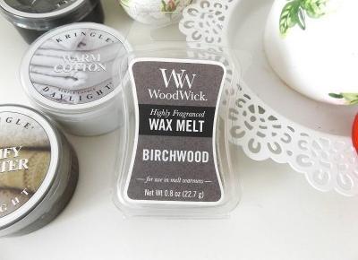 acne skin: WoodWick » wosk sojowy » Birchwood