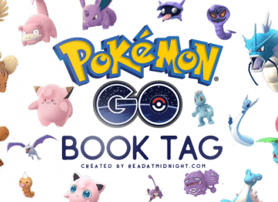 To Read Or Not To Read: Gotta Read 'em All - Pokemon GO Book Tag