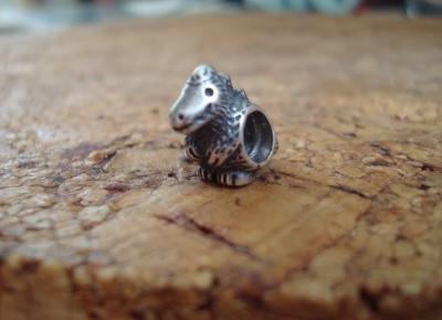 Ewushia: PANDORA - popularny charm - DINOZAUR-Rare charm - Dinosaur