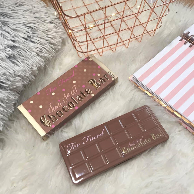 Kayleen - Box of Beauty & Lifestyle.: Semi-Sweet Chocolate Bar by Too faced!